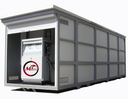 Контейнерная АЗС для ДТ и бензина 2