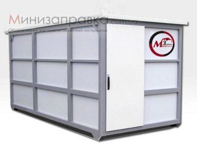 Контейнерная АЗС для дизельного топлива