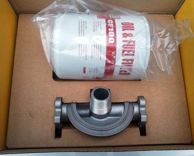 Картридж фильтр CF-100 PIUSI для топлива и масла 100 л/мин (5 мик.)
