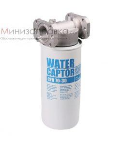 Фильтр для топлива водоотделяющий 70 л/мин Water Сaptor