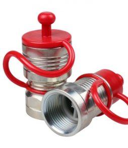 Быстроразъемное соединение с обратным клапаном для шлангов